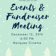 December Activities Meeting
