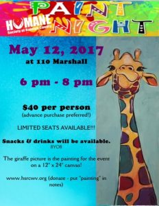 Paint Night - May 12