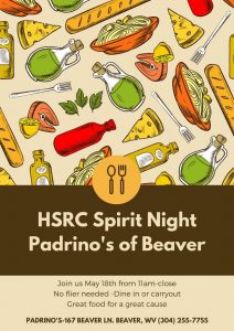 HSRC Spirit Night - Padrino's