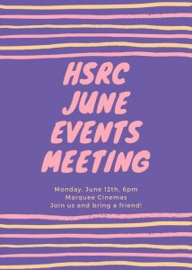 HSRC Events (June)