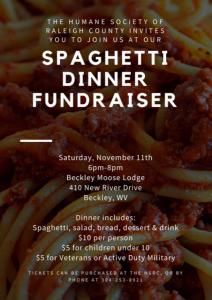 Spaghetti Dinner - 2017