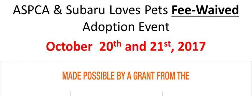 subaru adoption event